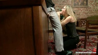 James Deen Fucks Chastity Lynn In The Office