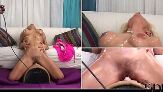 Victoria Rush's First Sybian Fuck Experience