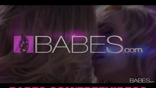 Babes - Hot Blond Gfs Nicole Aniston & Brett Rossi Make Love