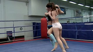 Nude Fight Action With Energetic And Hardcore Ladies Betty Saint And Sinead