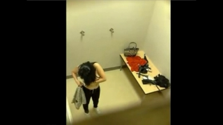 Hidden Cam: Trying On Bras
