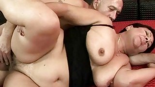 Naughty Fat Grandma Getting Fucked
