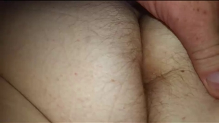 Wifes Big Soft White Hairy Ass Crack, Hairy Asshole