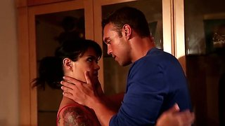 Exotic Woman In Red Dana Vespoli Gets Laid