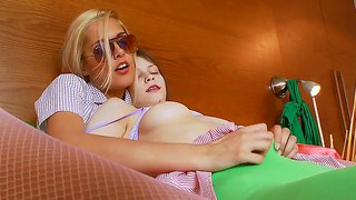 Lesbian Adventure With Cure Young Girls Beata,  Sasha