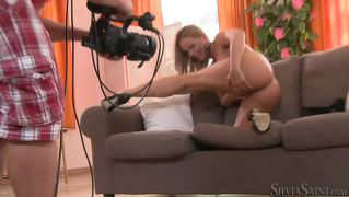 Silvia Saint Takes Sexy Pictures In This Behind The Scenes !