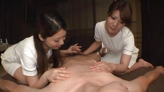 asian milf wild threesome with amateur