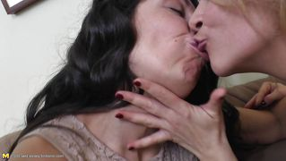 Young Lesbian Fucks Two Old Lesbians