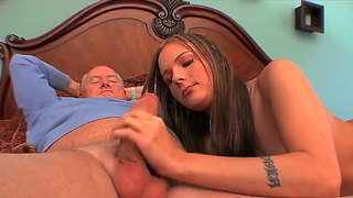 Old Cock For A Young And Passionate Chick Whose Name Is Autumn Skye