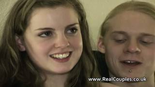 Teen Couple Beatrix Bliss And Drew Talk Before Fucking