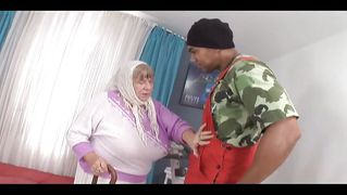 White Chubby Granny Loves Bbc @ Grandma Loves Black Cock