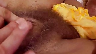 Lusty Granny Gets Her Hairy Pussy Fucked Hard