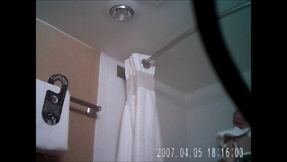 Hidden Shower Spy Cam Caught.... Or Maybe Not Lol