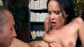 Jordon Ash And Katie St. Ives Get Turned On In Their School Fantasy.