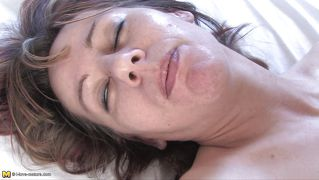 Lustful Janie Enjoying A Hard Cock