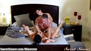 Sweetsinner Milf Squirting Ffm Threesome