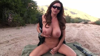 Outdoors With My Shotgun Naked