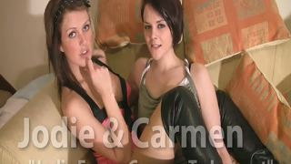 British Jodie And Carmen Joi