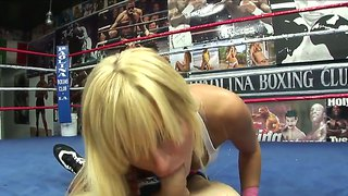 Brooke Belle Bangs With Scott Stone On A Ring