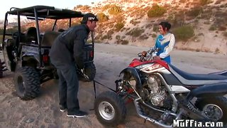 Dirt Bike Fun With Aaron Wilcoxxx And London Keyes