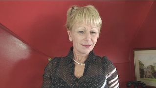 Mature Office Lady Fucks Herself