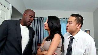 Black Male Lex Steele Bangs Veronica Avluv