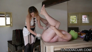 Maitresse Claudiacuir Dominatrice Godeuse Video Sado Maso Sm