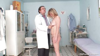 Old Slut Is Being Checked Up By Her Doc