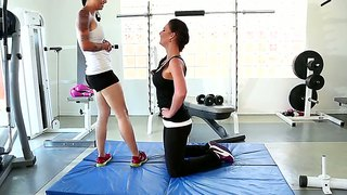 Dana Vespoli Gets Turned On By Phoenix Marie At The Gym
