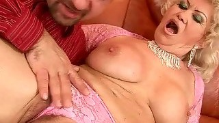 Naughty Old Bitch Getting Fucked