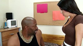 Hailey Murphy Is Fucked By A Buff Black Man