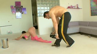 Gianna Michaels Double Penetrated On Camera