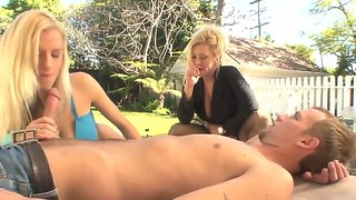 Charity Mclain And Haley Cummings Fuck In Public