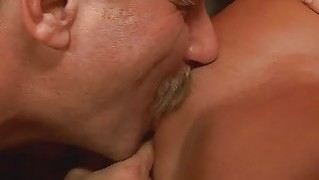 Pretty Teen Enjoying Sex With Old Man
