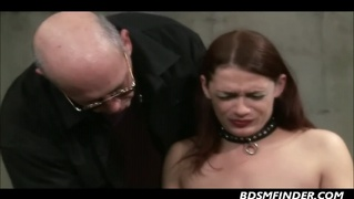 kinky her tits whipped and ass caned by her older mistress