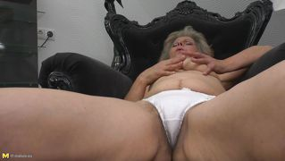blonde mature hairy