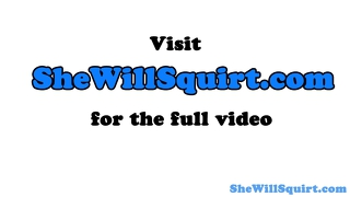 squirt on dick