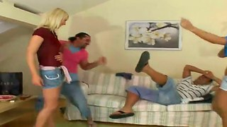 Antonio Ross, Kira Black, Leslie Taylor & Tony Sex