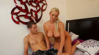 Abbey Brooks And Chris Johnson In Oral Action