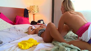 Kinky Sara Jaymes And Stacey Hopkins Lesbians
