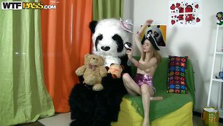 Panda's Little Naughty Girl