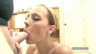 Blonde Hottie Penelope Sucking Dick