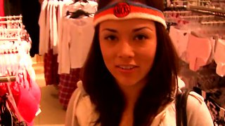 Kristina Rose Tries On New Lingerie Items