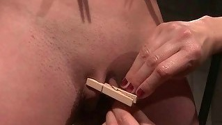Mistress Playing With Her Hot Sexslave