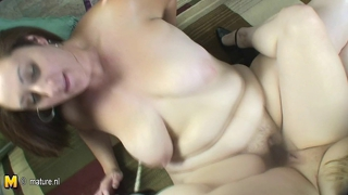 Mature Lesbian Is Playing With Teeny Girlfriend