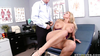 Jordan Ash Test His Modern Methods Of Treatment On Busty And Exciting Shyla Stylez's Body