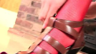 Monicca Gives Life To Stockings And Sultriness