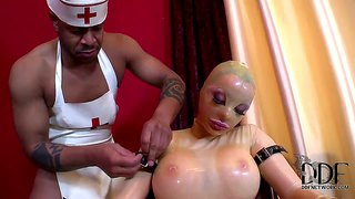 Very Strange Porn Video About Black Doctor And Toy Guy.