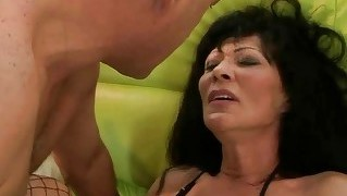 Granny Gets Her Pussy Fucked Hard