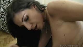 Watch This Hot And Naughty Girl Getting Wet With Rocco's Toy